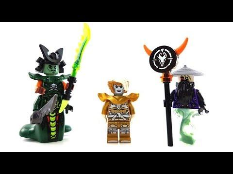 15 weitere LEGO Ninjago Custom Minifiguren von Zuschauern / Folge 3