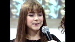 """Charlotte Church canta """" La Pastorella """" no Faustão - 2000"""