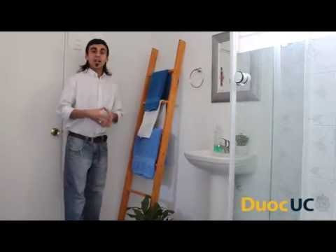 Tutorial: Escalera Toallero.Técnico en Construción Duoc Uc