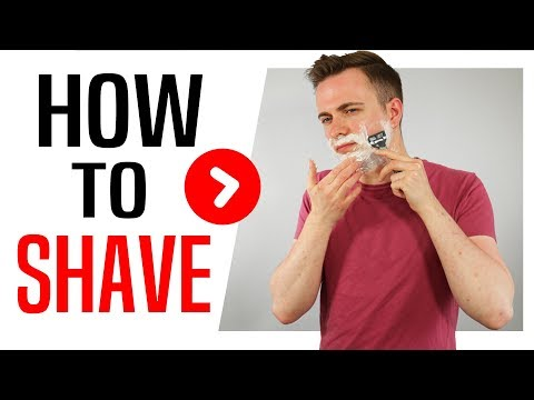 HOW TO SHAVE AND USE A RAZOR FOR SMOOTH SKIN | Tutorial for Men