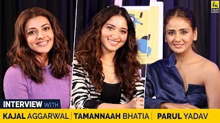 Tamannaah Bhatia, Kajal Aggarwal & Parul Yadav Interview with Anupama Chopra | Queen Remake