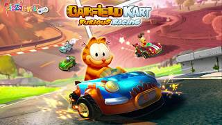 Garfield Kart Furious Racing | Full Movie Game | All Cups | ZigZag Kids