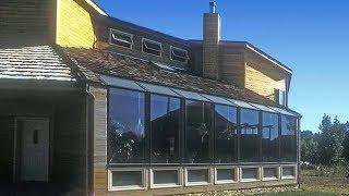 Окна на 100% отапливают дом: Пассивное солнечное отопление