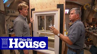 How To Flash A Window | This Old House
