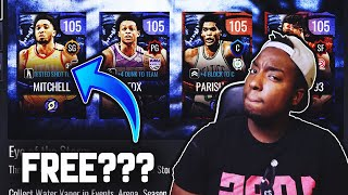 HOW TO GET A 105 OVR EYE OF THE STORM MASTER FOR FREE IN NBA LIVE MOBILE 20!!!
