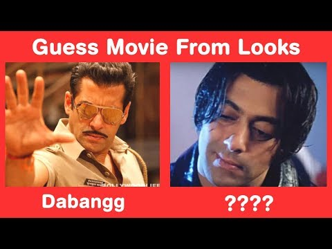 Salman Khan Visual Memory Challenge - Guess Movies from Looks