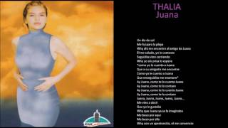 thalia juana + lyrics