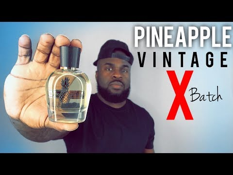 Parfums Vintage X Batch Fragrance Review | Men's Cologne Review