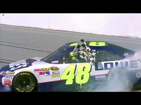 Sunoco Fueled for 15: Jimmie Johnson wins in 4-wide finish at Talladega