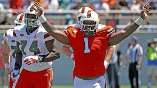 Miami Hurricanes Spring Game LIVE INSTANT ANALYSIS