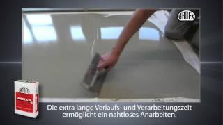 ARDEX K 39 - Reaktivierbare Bodenspachtelmasse / Perfekte Untergründe für Designbeläge und Fliesen