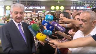 "Deputy Prime Minister Ali Ahmadov at ""From Village to City"" fair"