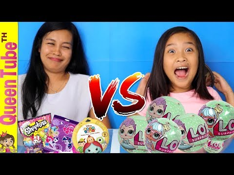ลุ้นหนักมาก L.O.L Vs. ซองของเล่น เซอร์ไพรส์  L.O.L Surprise Vs. Toy Challenge  Fun For Kids