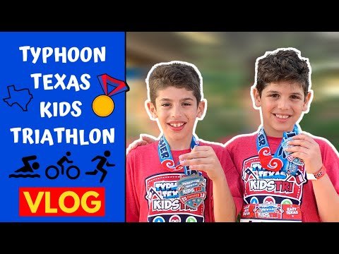 Typhoon Texas Kids Triathlon VLOG