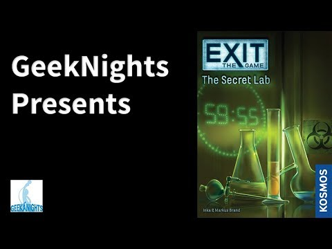 Review: Exit: The Game - The Secret Lab - GN Presents