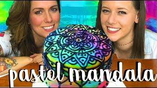 PASTEL MANDALA! ft. Dacosta's Bakery ♡ Dani Hoyos Art