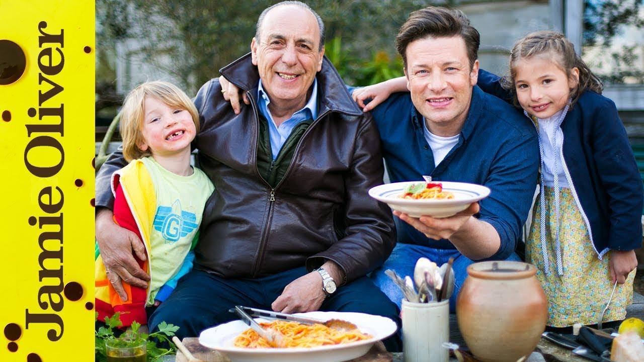 Spaghetti Arrabiata Jamie Oliver Amp Gennaro Contaldo