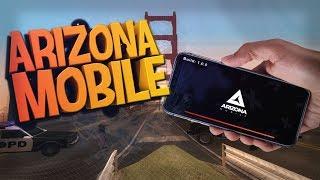 ARIZONA MOBILE ВЫШЛА! Как Зайти на Arizona RP С Телефона (+ ССЫЛКА СКАЧАТЬ)