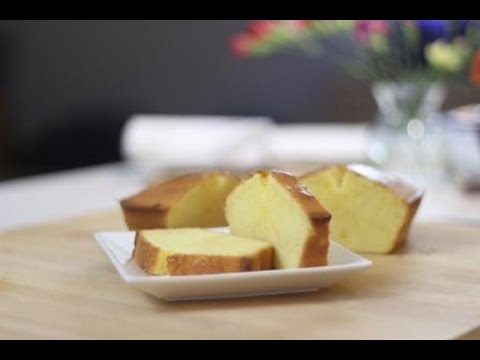 Video Simple Butter Cake