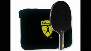 Killerspin Jet Black Table Tennis Paddle