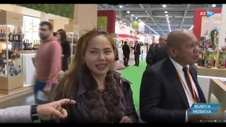 """World Food Moscow 2019 ""- There is great interest in Azerbaijani products"