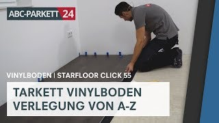 Tarkett Vinyl Starfloor Click 55 richtig verlegen
