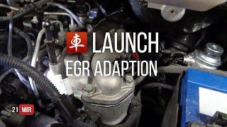 #21mir EGR ADAPTION. Launch X431 Pro3. Обзор.