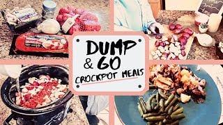 DUMP & GO CROCK POT MEALS   QUICK & EASY CROCK POT MEALS   TENDERLOIN CROCK POT DINNER