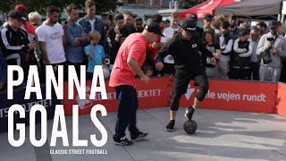 Crazy foot work and goals   Classic Street Football