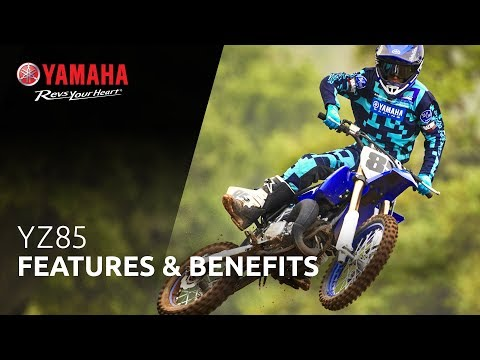 2021 Yamaha YZ85 in Tamworth, New Hampshire - Video 2