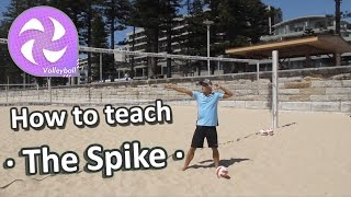 • The Spike • How to teach volleyball skills at elementary school