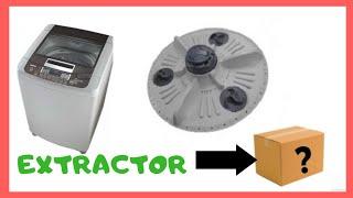 extractor para sacar el agitador de la lavadora LG o SAMSUN (COMO QUITAR EL AGITADOR )