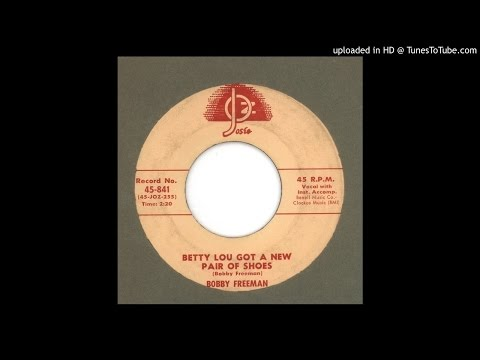 Freeman Bobby Betty Lou Got A New Pair Of Shoes 1958 Chords