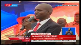 KTN Newsdesk 29th November 2016 - ODM defectors from Maasailand return to the party