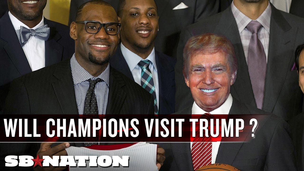 Will champions visit President Trump? thumbnail