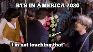 BTS IN AMERICA 2020 (PART2)