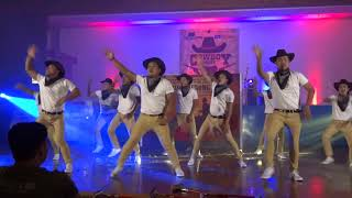 COWBOY NIGHT TEAM FOSSIL DANCE CHAMPION
