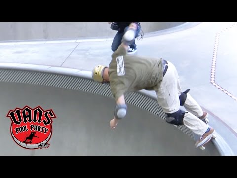 Jed Fuller 3rd Place Masters Run 2016 | Vans Pool Party | VANS