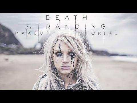 Death Stranding Inspired Makeup Tutorial