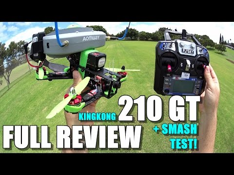 KING KONG 210GT FPV Race Drone Review – [Unboxing, Inpection, Flight / Crash Test!, Pros & Cons]