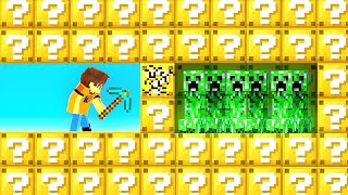 MINECRAFT LUCKY BLOCKS But The Video Ends When I Die!
