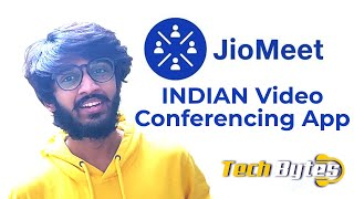 Reliance Jio New App | Jio Meet | INDIAN Video Conferencing App | TECHBYTES