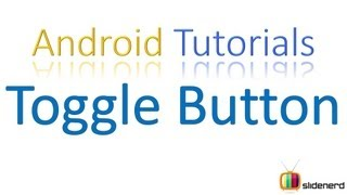 #70 Android Toggle Button; Android Tutorial For Beginners [HD 1080p]