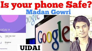 UIDAI | Is your phone safe | Tamil | Madan Gowri