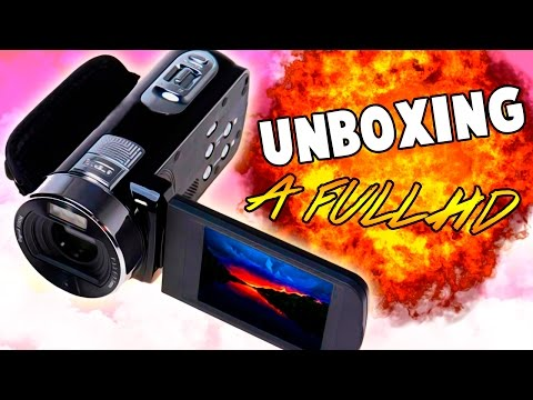 UNBOXING DE VIDEO CÁMARA FULL HD