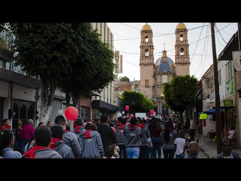 Marchan miles por la Virgen de Guadalupe