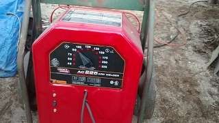Lincoln electric a.c. 225 review (stick welding)