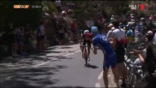 Tour Down Under 2019 Stage 6 Final Kilometer | Richie Porte Win Stage 6 Tour Down Under 2019