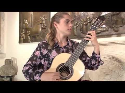 Nadja Janković plays Paganini: Grand Sonata: Allegro risoluto