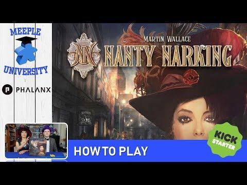 Nanty Narking Board Game (Kickstarter) – How to Play & Setup